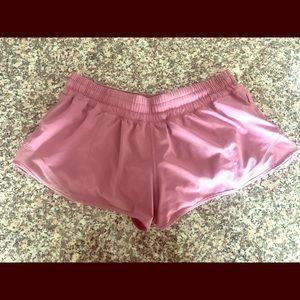 🍋 Lululemon Rose Lined Shorts w/ Side Pocket 🍋